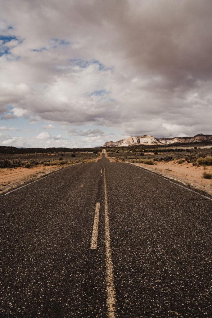 Open Road in Utah